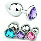 Fun Toys Small Size Heart Shaped Stainless Steel