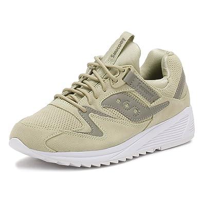 Saucony Grid 8500 Hommes, Cuir Lisse, Sneaker Low, 41 EU
