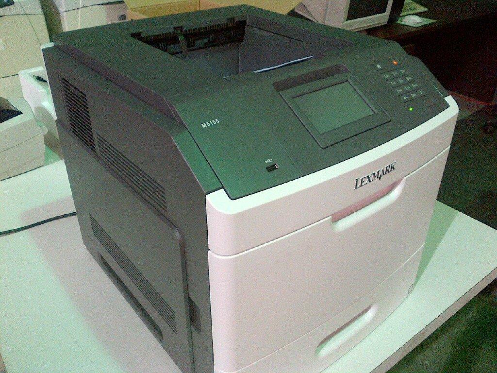 Amazon.com: Lexmark M5155 impresora láser monocromo: Electronics