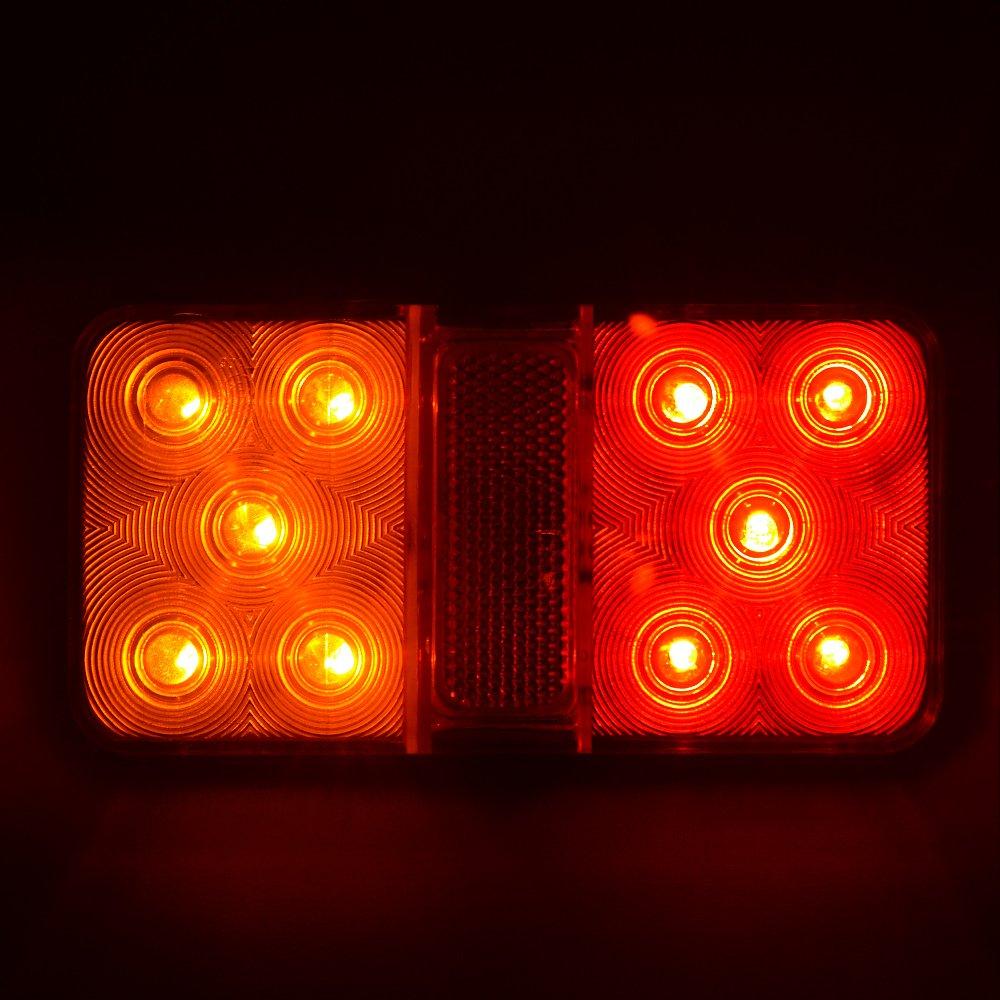 LED 2 St/ück 12/V R/ückfahrleuchte//R/ücklicht // Bremslicht f/ür Truck////Trailer////LKW////Wohnwagen