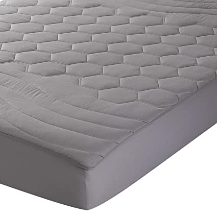 Amazoncom Bedsure Quilted Mattress Pad Twin Xltwin Extra Long