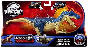 Jurassic World DobleAlosaurioDinosaurio Juguete Ataque De Mega PXOikuZ