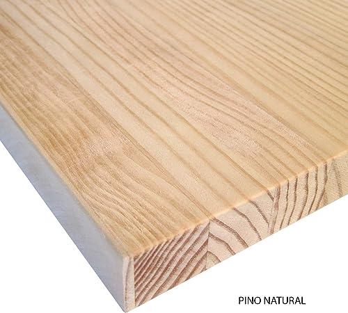 Planche Bois Massif Brut Pin Naturel Sans Vernis Pour Tables