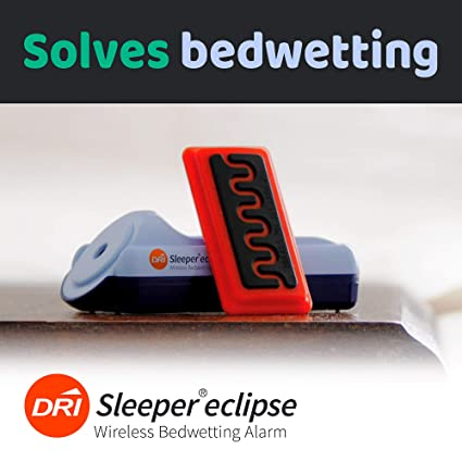 Dri Sleeper Eclipse Inalámbrico Cama Mojado Alarma: Amazon ...