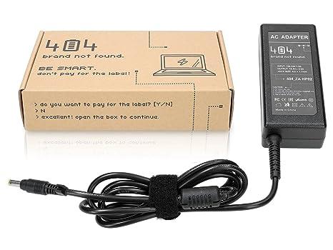 404Brand Cargador Adaptador para Ordenador Portátil para HP Compaq Evo N1000V-470036-622 (18.5V, 3.5A, 65, 4.8: Amazon.es: Electrónica