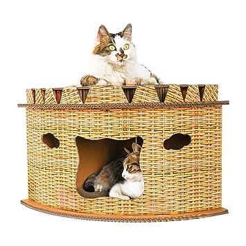 HoneybeeLY Camas y tapetes para Gatos, artículos para Mascotas, Muebles para Gatos, protección