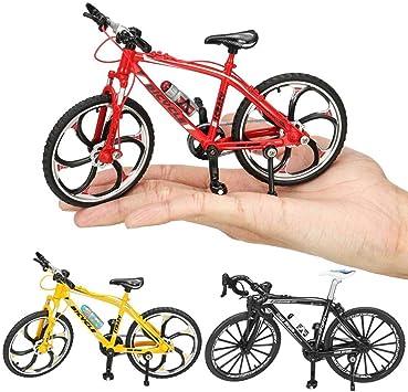 SUCAN 1:10 Diecast Modelo de Bicicleta Juguetes Carrera Ciclismo Bicicleta de montaña Edificio Decoración de Regalo - Amarillo: Amazon.es: Juguetes y juegos