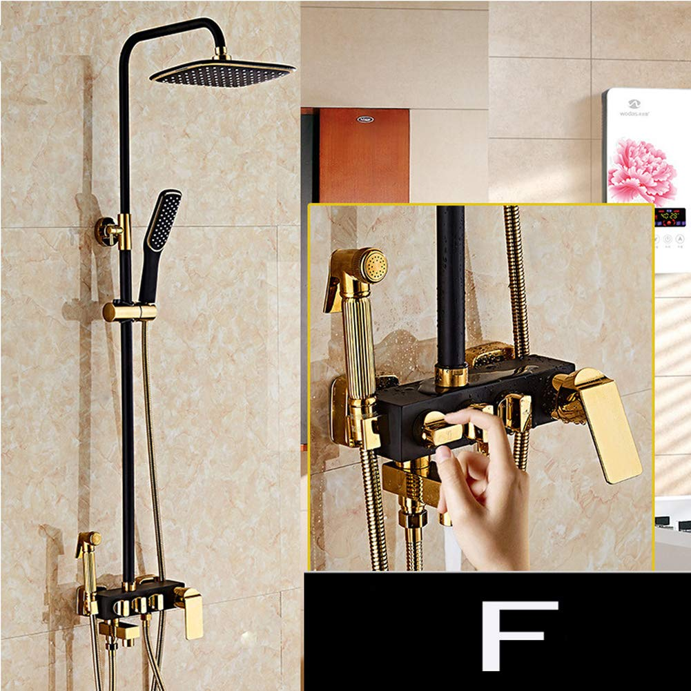 Kit de columna de ducha - Juego de elevador de ducha de baño ...