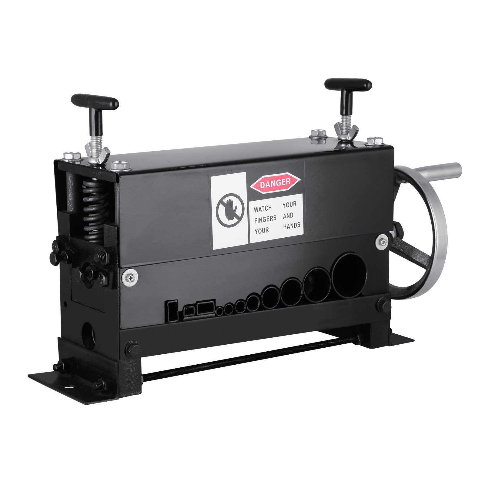 VEVOR Cable Wire Stripping Machine Φ1.5mm~Φ20mm Wire Stripping Machine 10 Channels Wire Stripping Machine Tool Manual Hand Cranked Industrial Wire Stripping Recycle (10 Channels)