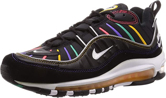 Amazon.com | Nike Air Max 98 Premium Men's Shoes Athletic ...