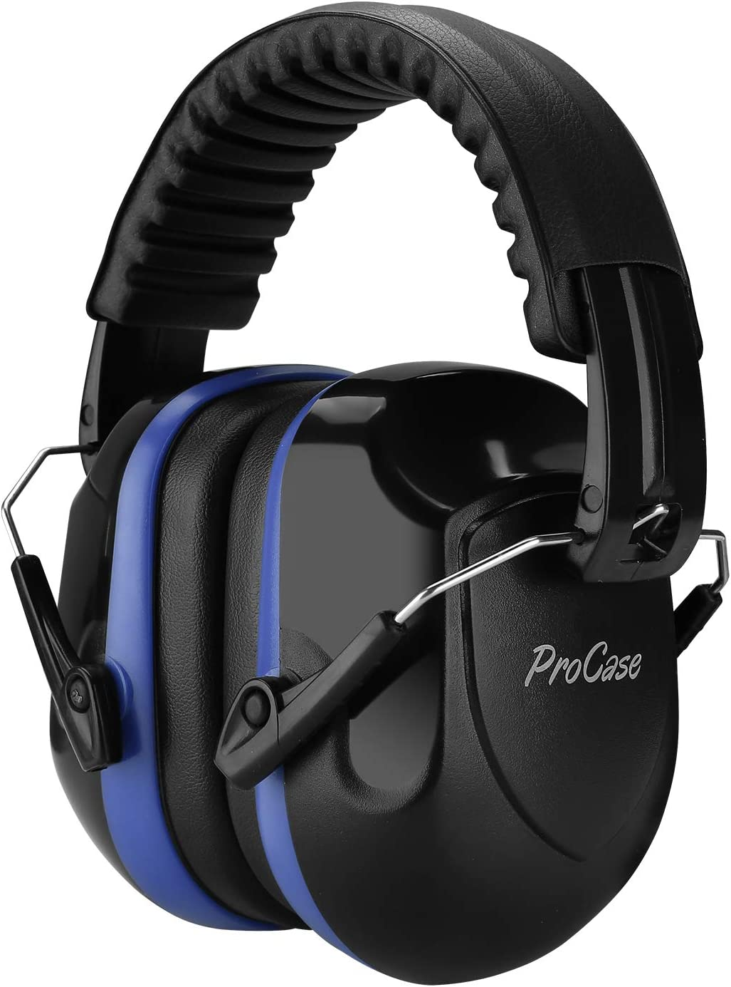 ProCase Noise Reduction Ear Muffs, NRR 28dB Shooters Hearing Protection Headphones Headset, Professional Noise Cancelling Ear Defenders for Construction Work Shooting Range Hunting -Blue