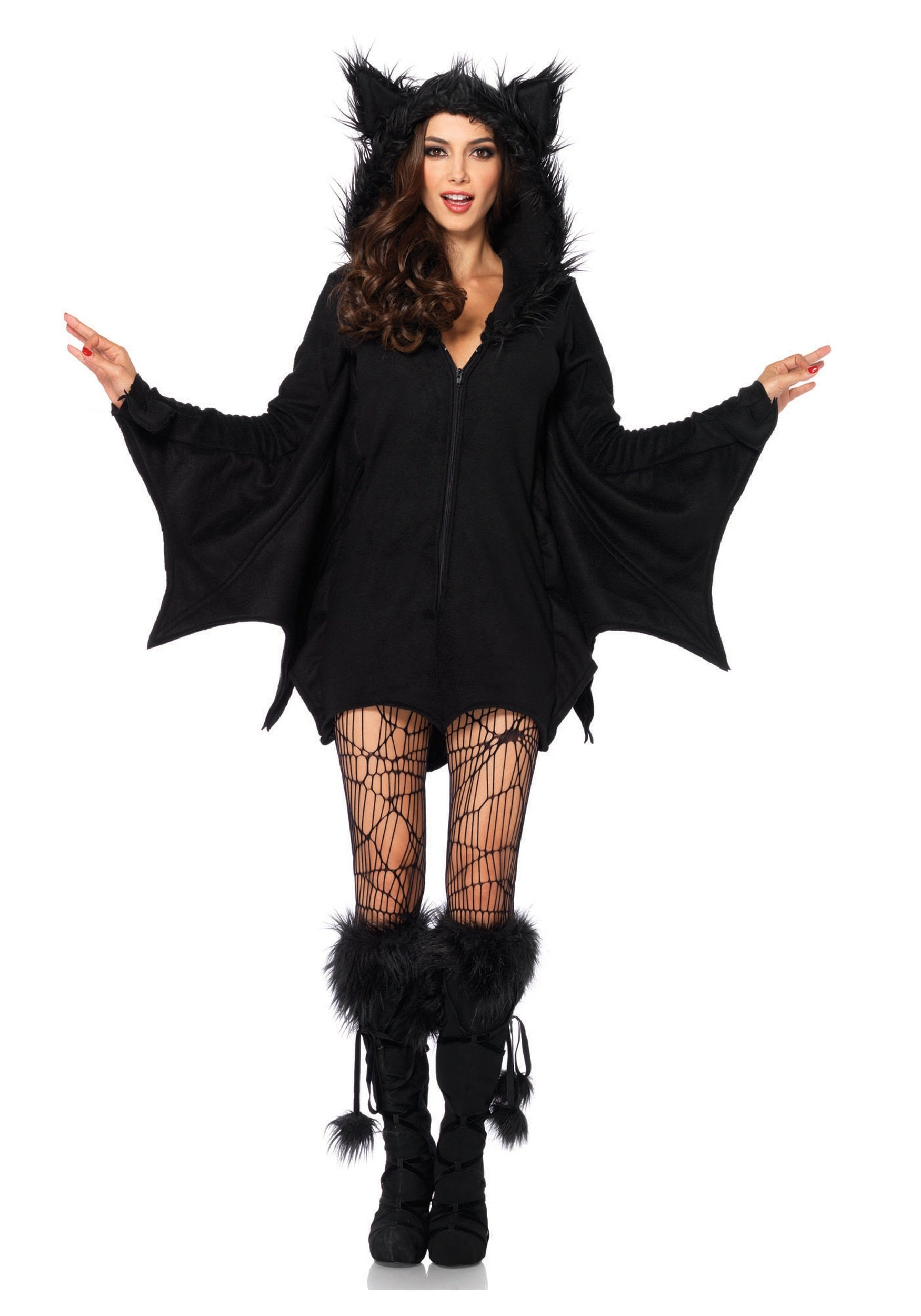 Plus Size Cozy Bat Adult Costume - 5X