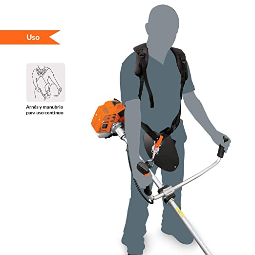 Amazon.com: TRUPER DES-63 Gas-Powered Brushcutter 63cc, Bike Handle. Outdoor Power Equipment. 1 Pack: Home Improvement