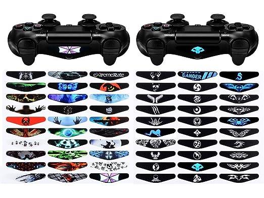 Extremerate 60 pcsset game theme led lightbar cover light bar extremerate 60 pcsset game theme led lightbar cover light bar decals stickers for playstation aloadofball Choice Image
