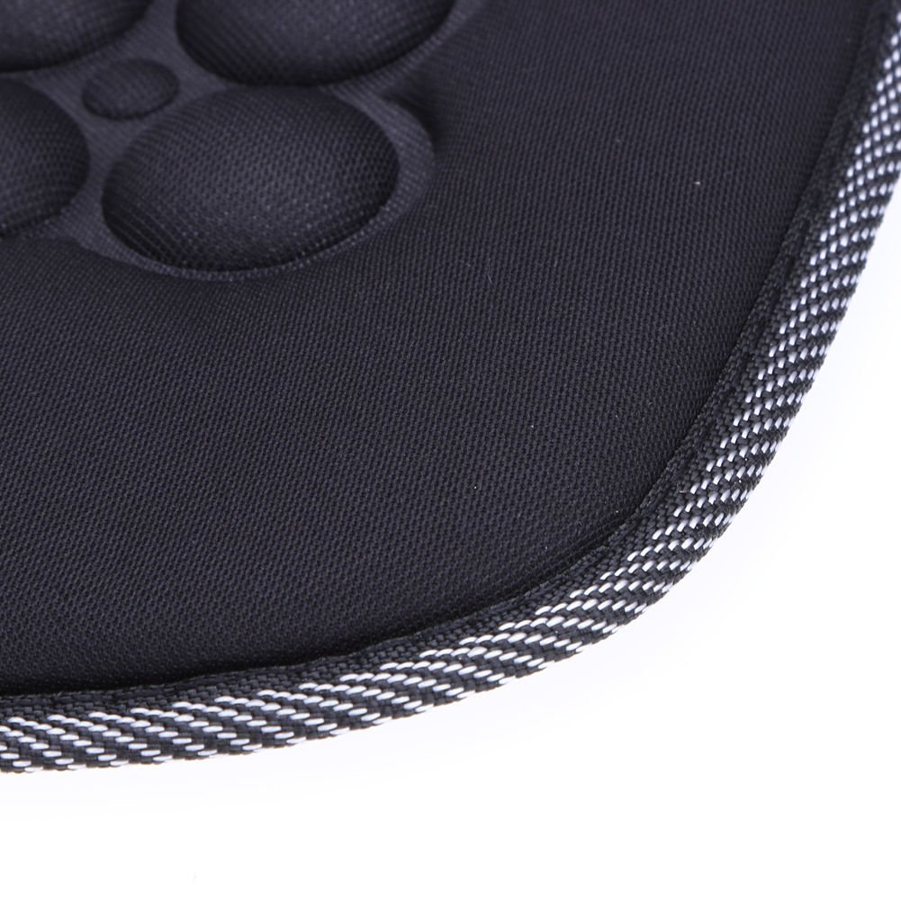 2 Black Magnetic Car Seat Cushions Protector Pad Winter Warm Therapy Health Protection Support for Cars Home and Office