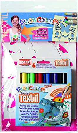 PLAYCOLOR Make Up THEMATICS Pack dibujo sobre textil, 09211 ...