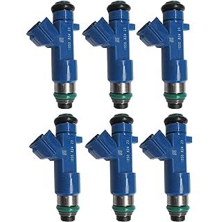 Amrxuts 6pcs//lot 16600-JF00A Fuel Injectors for 2009-2018 Nissan GT-R 3.8L V6 14002-AN001