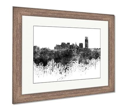 Amazon.com: Ashley Framed Prints Wall Art Home Decoration, Black ...