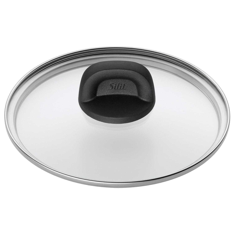 Silit Glasdeckel Modesto /Ø 20cm Kunststoffgriff sp/ülmaschinengeeignet