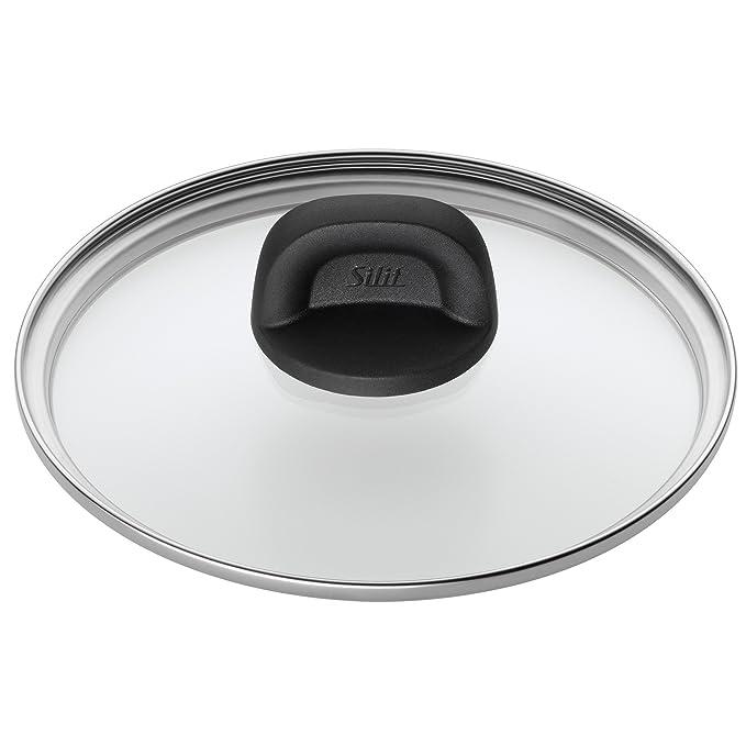 Silit Glasdeckel Modesto Ø 20cm Kunststoffgriff spülmaschinengeeignet