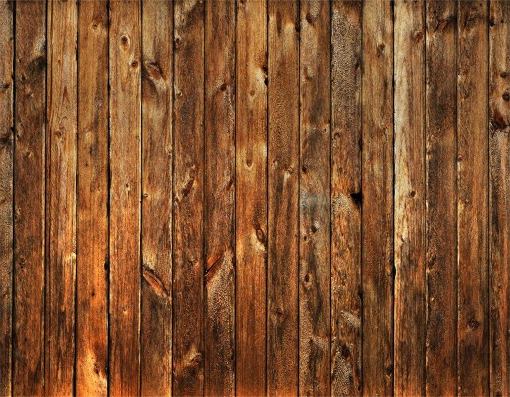 YongFoto 3x3m Vinilo Angustiado Tel/ón de Fondo de Madera Marr/ón Tabl/ón de Madera a Rayas Vintage Tel/ón de Fondo Photo Booth Infantil Ni/ños Photo Studio Props