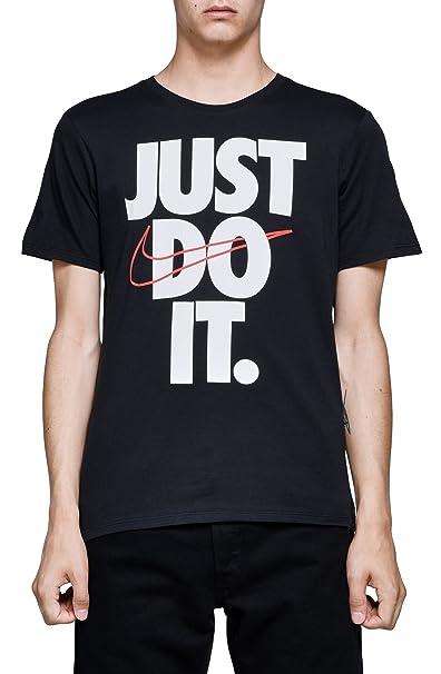 87c203e46d Nike Hybrid Just Do It Men s T-Shirt at Amazon Men s Clothing store