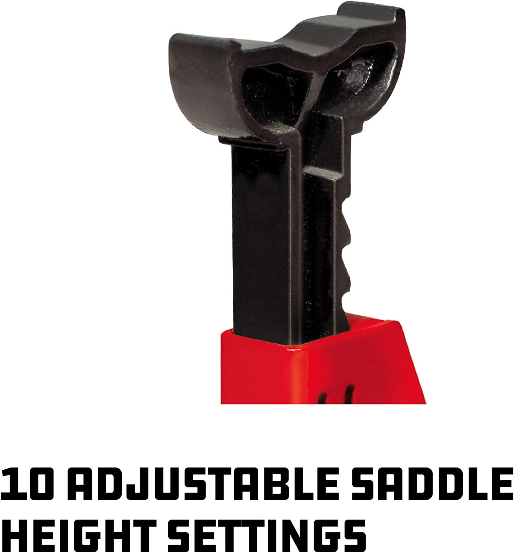 Powerbuilt 640399 Heavy Duty 2-Ton Jack Stand 2 Piece