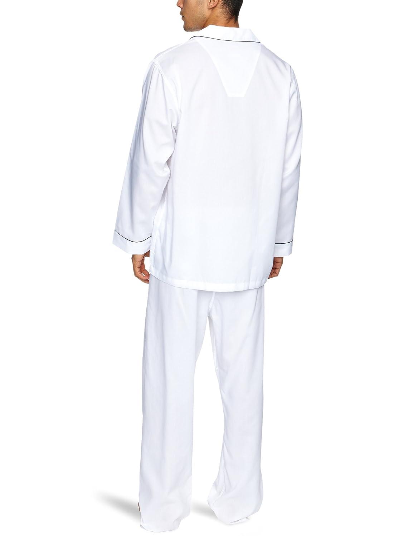 BROOKS BROTHERS - Pijama para hombre, talla XL, color blanco: Amazon.es: Ropa y accesorios