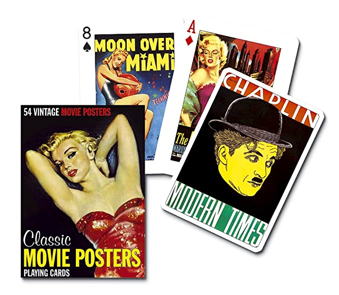 Amazon Piatnik Movie Posters Playing Cards Toys Games