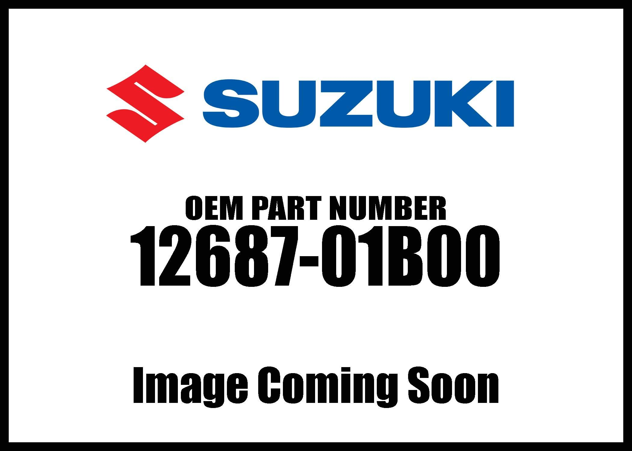 Suzuki Bush Exhaust Va 12687-01B00 New Oem