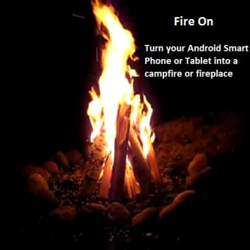 Fireplaces and Campfires app - 42 Relaxing fireplace and campfire videos to  choose from and play on your Mobile Device