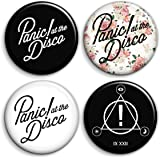 Panic at the Disco - Button Badges (Set of 4)