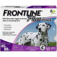 Deals on Frontline Plus for Dogs 4588 lbs Purple 6 Month