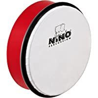 "Nino Percussion NINO4R - Pandero color rojo (6"")"