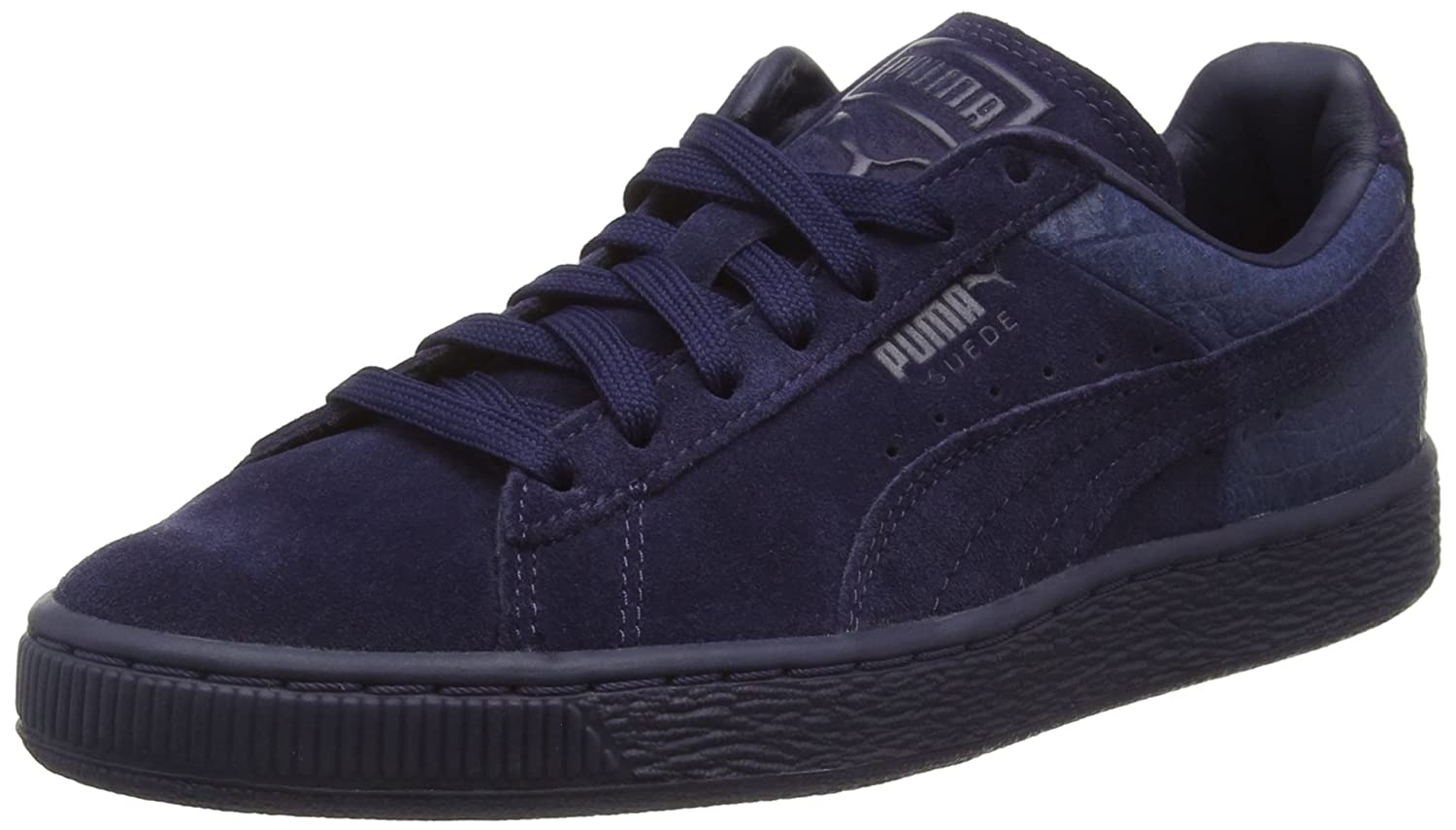 innovative design 9110b 2618d Puma Suede Classic Casual Emboss Blue  Buy Online at Low Prices in India -  Amazon.in
