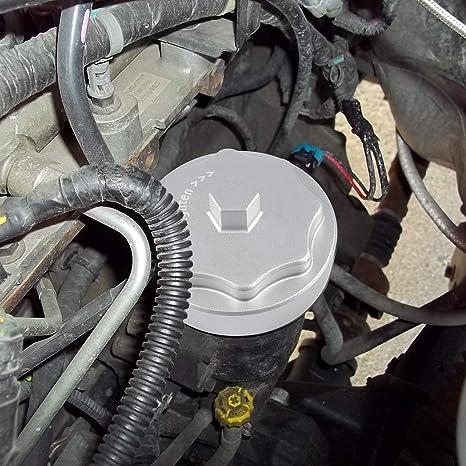 Amazon Com Danti Aluminum Fuel Filter Housing Cap Cover For 2010