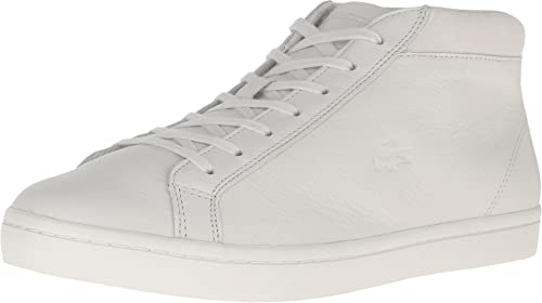 Cam Mens White Leather Sneakers Shoes
