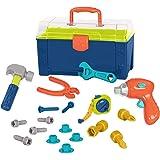 Battat – Battat Busy Builder Tool Box – Durable Kids Tool Set – Pretend Play Construction Tool Kit for Kids 3 years+ (20…