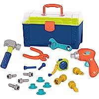 Battat BT2506Z – Battat Busy Builder Tool Box – Durable Kids Tool Set – Pretend Play Construction Tool Kit for Kids 3…