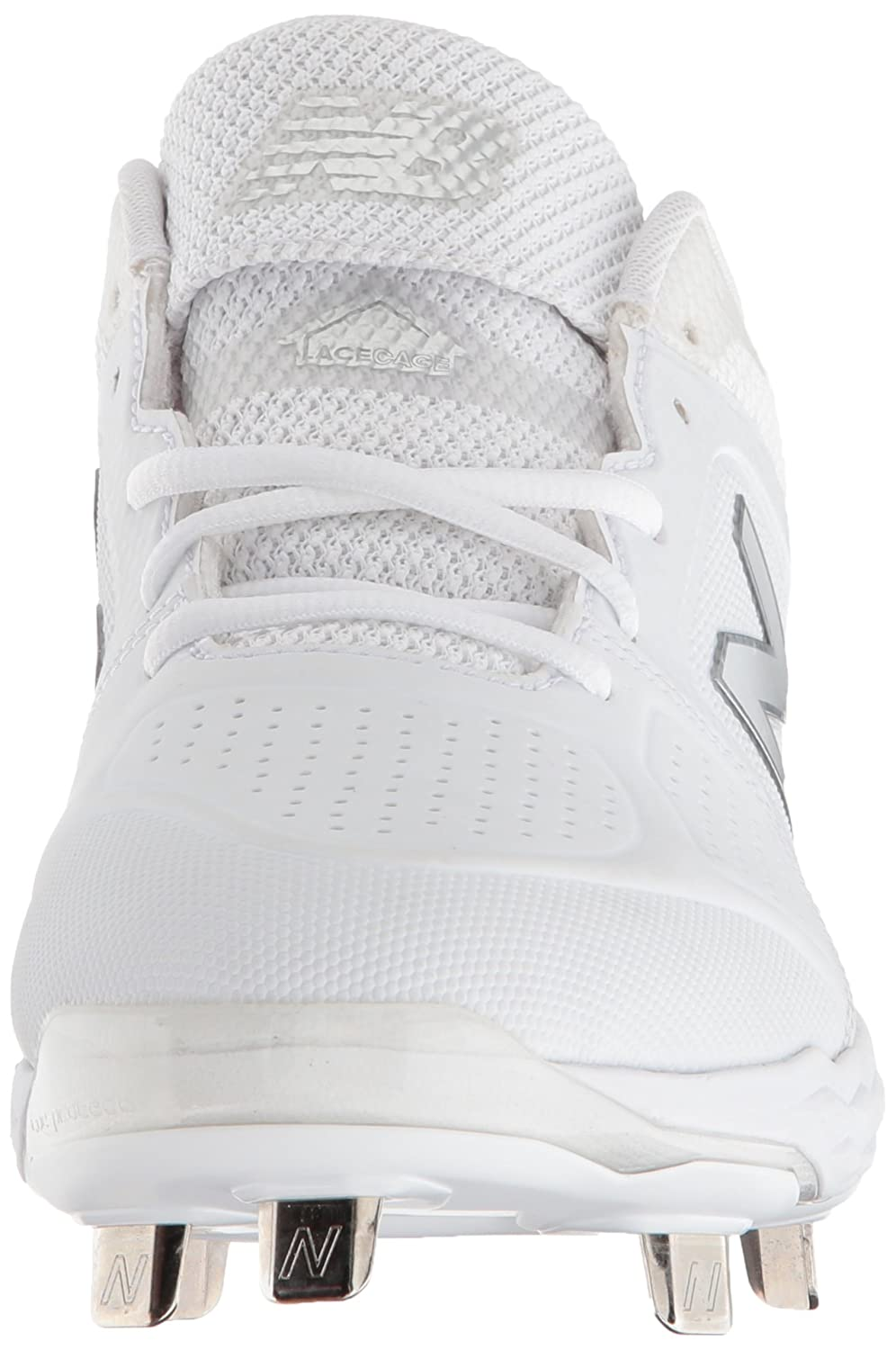 New Balance Softball Women's Velo V1 Metal Softball Balance Shoe B075R7J4D3 9.5 D US|White/White 87d881