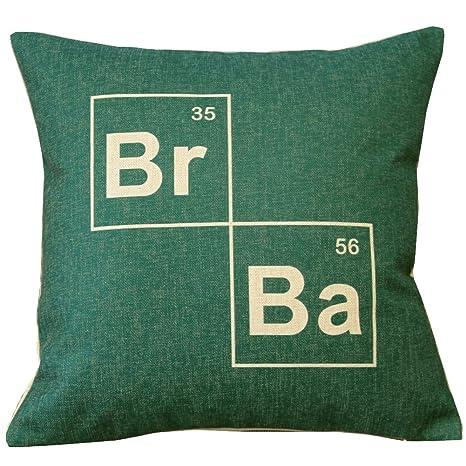 Breaking Bad (BR BA) manta funda de almohada Decor fundas ...