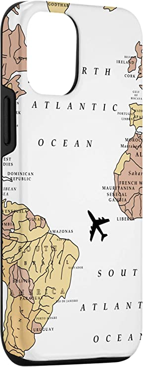 iPhone 12/12 Pro World Map Design for your Travel Buddy Case