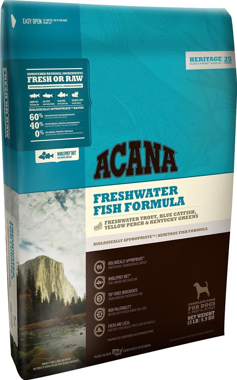 Acana Heritage Freshwater Fish Dog Food, 4.5 pounds