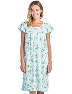 cc365ac21a Casual Nights Women s Cap Sleeve Floral Nightgown at Amazon Women s ...