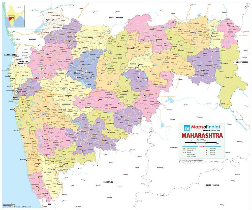 Maharashtra Map [Printed on Vinyl] (70 x 84 cm): Amazon.in ... on ajanta on map, goa map, bihar map, india map, nagaland map, arunachal pradesh map, madhya pradesh map, kashmir map, andhra pradesh map, west bengal map, aurangabad map, nagpur map, chhatrapati shivaji international airport map, meghalaya map, pune region map, punjab map, gujarat map, palghar district map, tripura map, mumbai map,