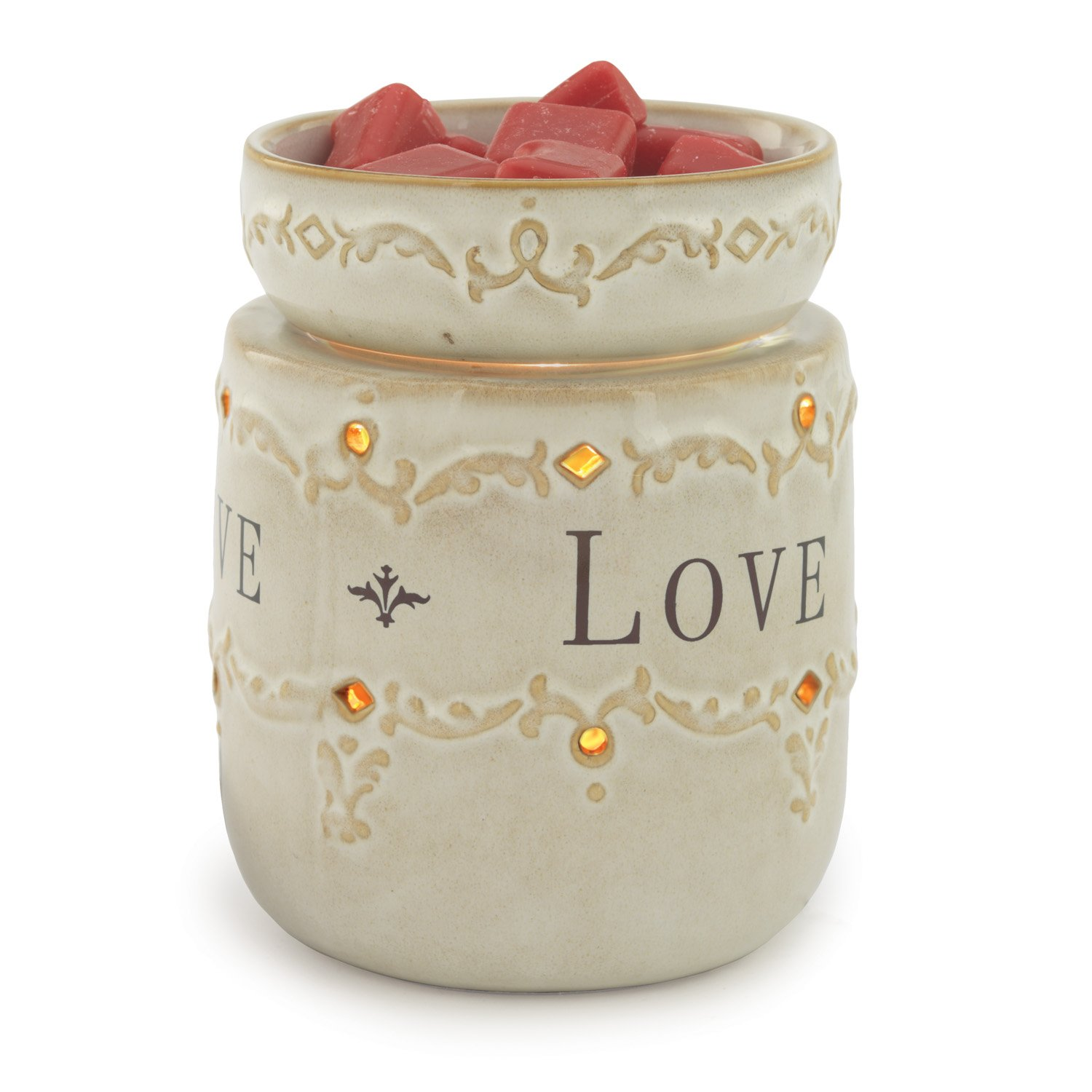 CANDLE WARMERS ETC. RW06 Melter Live Love Laugh