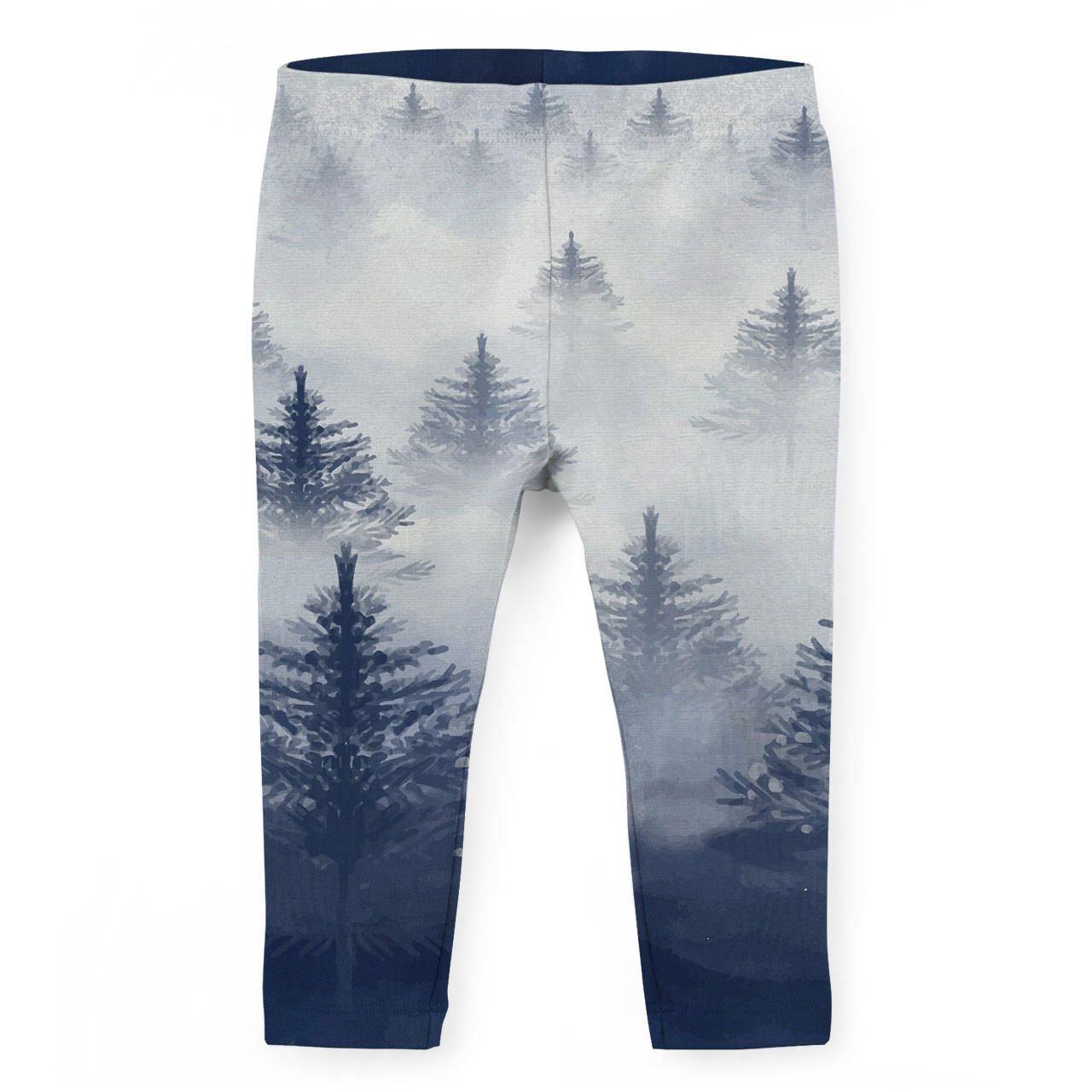 Misty Forest Kids Capri Leggings