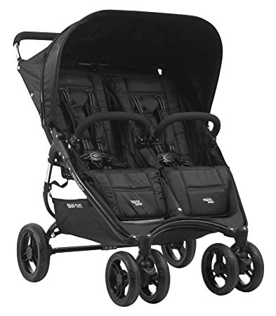 Amazon Com Valco Baby Snap Duo Dual Double Stroller Black