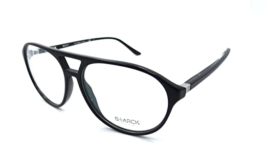 Amazon.com: Starck Eyes Mikli Rx Eyeglasses Frames SH3028 0002 57x14 ...