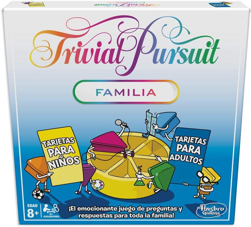 Hasbro Gaming- Trivial Pursuit (Versión Española) (E1921105 ...